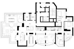 Ogród na dachu Plan