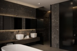 Poli House господарська ванна кімната.