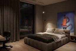 Poli House спальня