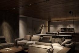 Poli House диван у Вітальні.
