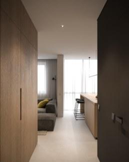 01. Tiny Apartments corridor